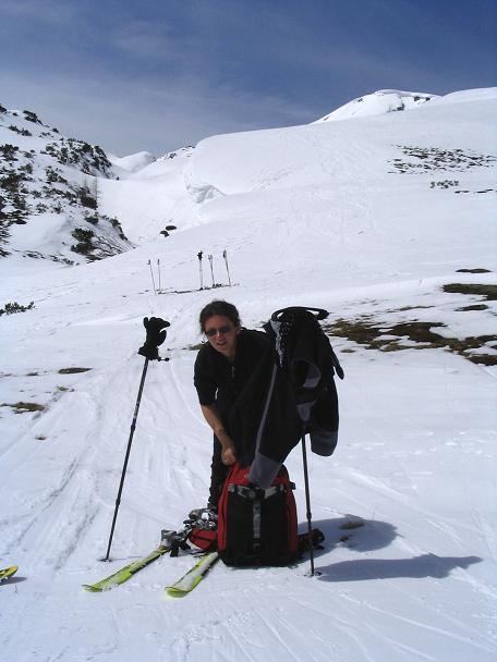 Foto: Andreas Koller / Ski Tour / Vom Radstädter Tauern auf die Steirische Kalkspitze (2459m) / 28.01.2009 20:40:13