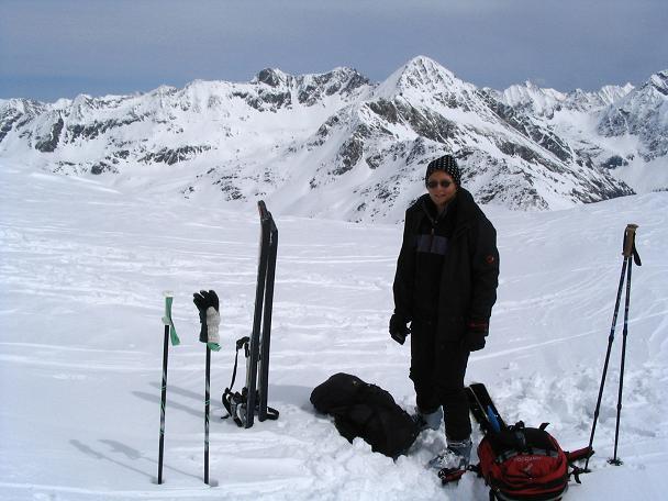 Foto: Andreas Koller / Ski Tour / Vom Radstädter Tauern auf die Steirische Kalkspitze (2459m) / 28.01.2009 20:39:14