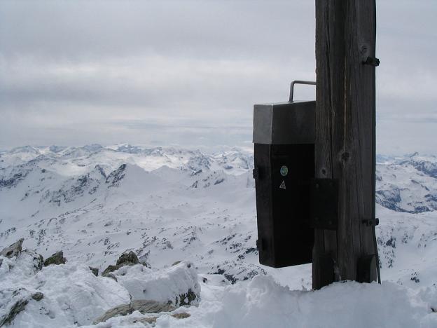 Foto: Andreas Koller / Ski Tour / Vom Radstädter Tauern auf die Steirische Kalkspitze (2459m) / 28.01.2009 20:38:26