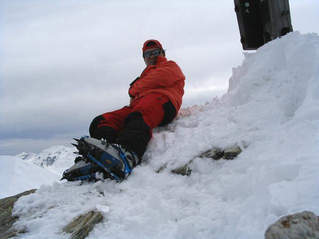 Foto: Andreas Koller / Ski Tour / Vom Radstädter Tauern auf die Steirische Kalkspitze (2459m) / 28.01.2009 20:37:57
