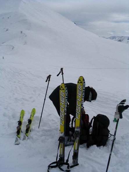 Foto: Andreas Koller / Ski Tour / Vom Radstädter Tauern auf die Steirische Kalkspitze (2459m) / 28.01.2009 20:37:35