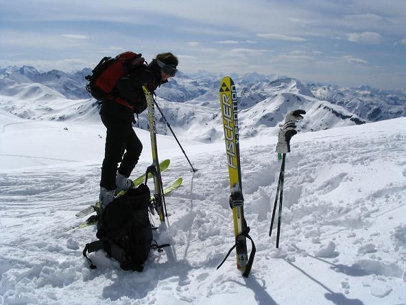 Foto: Andreas Koller / Ski Tour / Vom Radstädter Tauern auf die Steirische Kalkspitze (2459m) / 28.01.2009 20:37:28