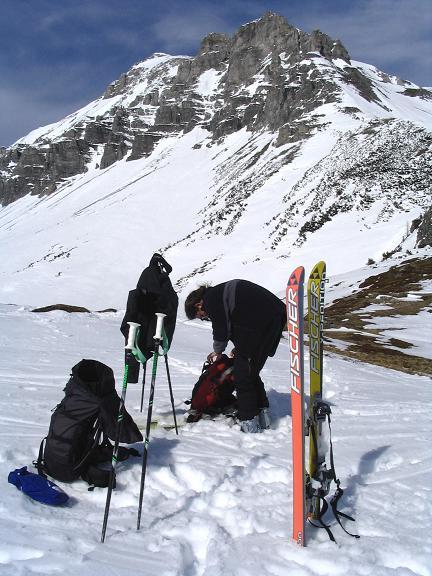 Foto: Andreas Koller / Ski Tour / Vom Radstädter Tauern auf die Steirische Kalkspitze (2459m) / 28.01.2009 20:36:36