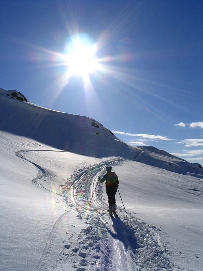 Foto: Andreas Koller / Ski Tour / Vom Radstädter Tauern auf die Steirische Kalkspitze (2459m) / 28.01.2009 20:36:55
