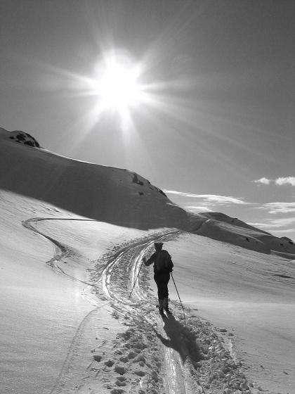 Foto: Andreas Koller / Ski Tour / Vom Radstädter Tauern auf die Steirische Kalkspitze (2459m) / 28.01.2009 20:36:27