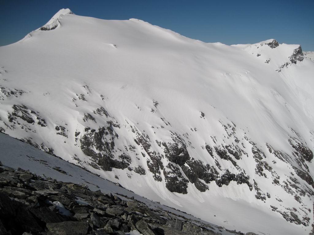 Foto: Heidi Schützinger / Ski Tour / Mittleres Schwarzhorn (2931m) / Ankogel Blick  / 12.06.2010 17:03:12