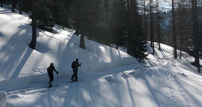 Foto: Lenswork.at / Ch. Streili / Ski Tour / Über den Pillstein auf das Zwölferhorn (1521m) / 16.02.2008 19:19:36