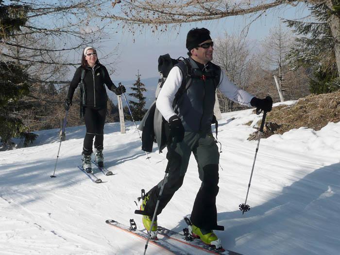 Foto: Lenswork.at / Ch. Streili / Ski Tour / Über den Pillstein auf das Zwölferhorn (1521m) / 16.02.2008 19:19:17