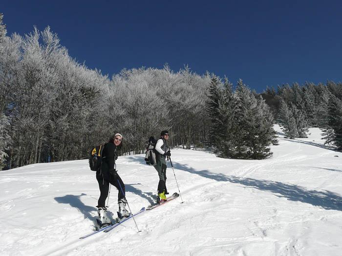 Foto: Lenswork.at / Ch. Streili / Ski Tour / Über den Pillstein auf das Zwölferhorn (1521m) / 16.02.2008 19:18:58