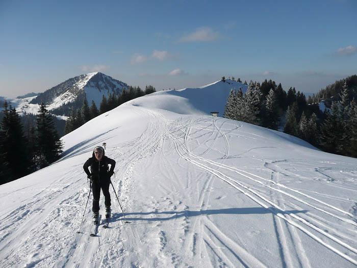 Foto: Lenswork.at / Ch. Streili / Ski Tour / Über den Pillstein auf das Zwölferhorn (1521m) / 16.02.2008 19:18:36