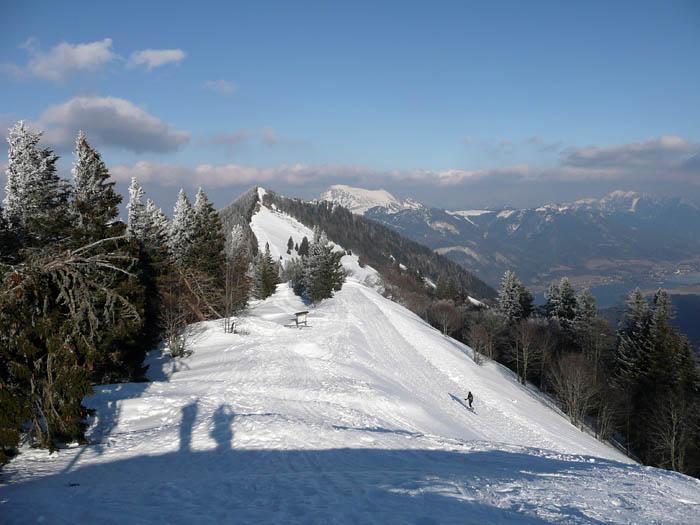Foto: Lenswork.at / Ch. Streili / Ski Tour / Über den Pillstein auf das Zwölferhorn (1521m) / 16.02.2008 19:18:26