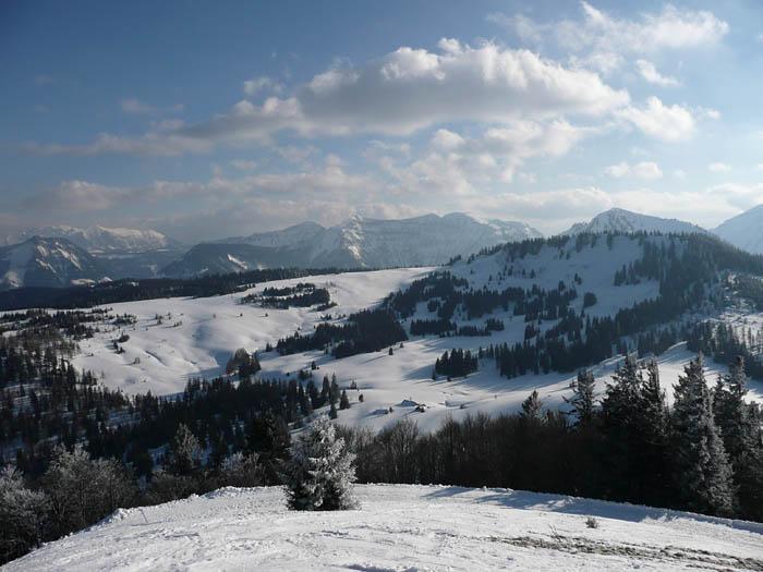 Foto: Lenswork.at / Ch. Streili / Ski Tour / Über den Pillstein auf das Zwölferhorn (1521m) / 16.02.2008 19:18:15