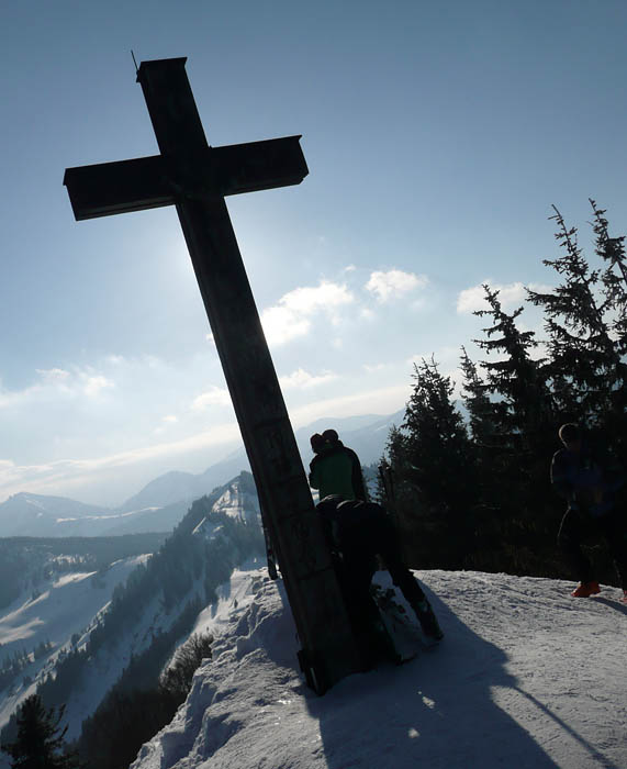 Foto: Lenswork.at / Ch. Streili / Ski Tour / Über den Pillstein auf das Zwölferhorn (1521m) / 16.02.2008 19:18:03