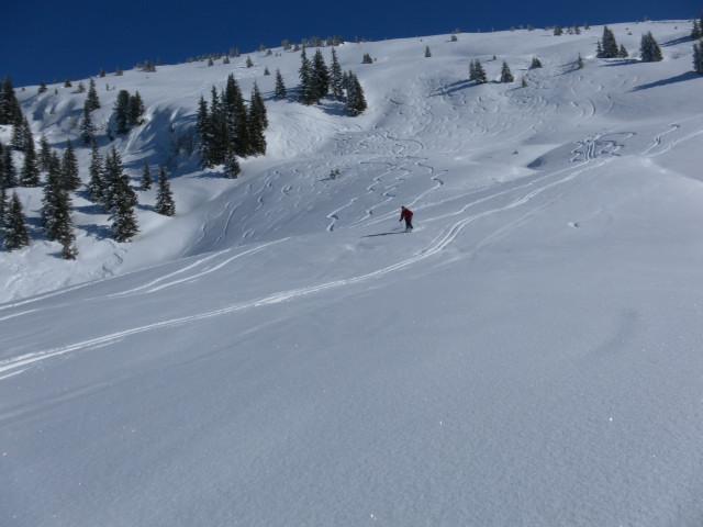 Foto: Wolfgang Lauschensky / Ski Tour / Lodron (1926m) / milde Abfahrtshänge / 26.02.2012 15:14:42