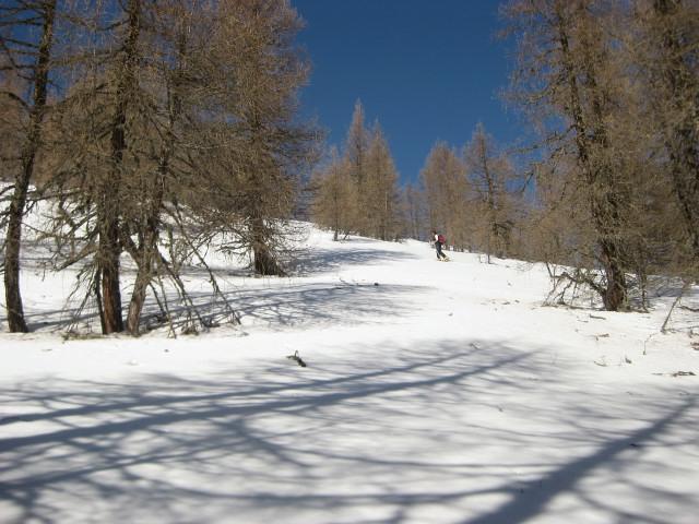 Foto: Wolfgang Lauschensky / Ski Tour / Mallnock (2226m) und Klomnock (2331m) / 13.01.2012 18:56:35