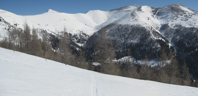 Foto: Wolfgang Lauschensky / Ski Tour / Mallnock (2226m) und Klomnock (2331m) / Falkert / 13.01.2012 18:55:59