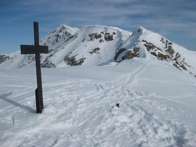 Foto: Wolfgang Lauschensky / Ski Tour / Mallnock (2226m) und Klomnock (2331m) / Gratverbindung / 13.01.2012 18:55:50