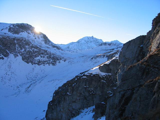 Foto: Andreas Koller / Ski Tour / Silberpfennig (2600m) / 17.12.2008 21:05:32