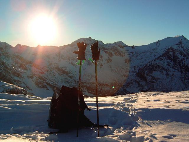 Foto: Andreas Koller / Ski Tour / Silberpfennig (2600m) / 17.12.2008 21:05:12