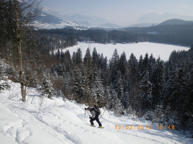 Foto: Günter Siegl / Ski Tour / Ausseer Zinken (1854m) / Ödensee / 19.02.2012 14:28:23