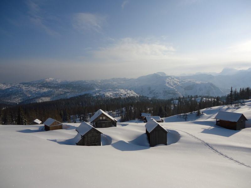 Foto: Günter Siegl / Ski Tour / Ausseer Zinken (1854m) / Planeralm / 19.02.2012 14:28:00