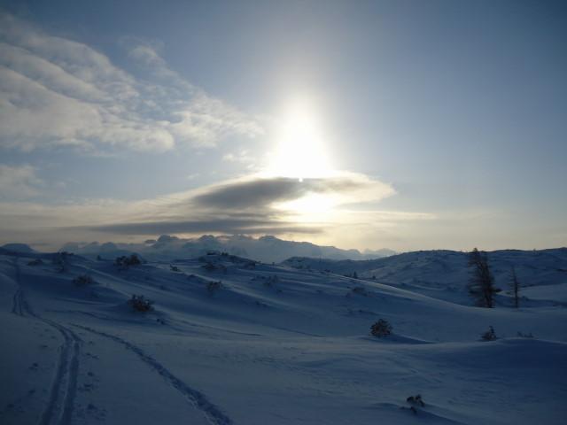 Foto: Günter Siegl / Ski Tour / Ausseer Zinken (1854m) / Dachstein. / 19.02.2012 14:27:33
