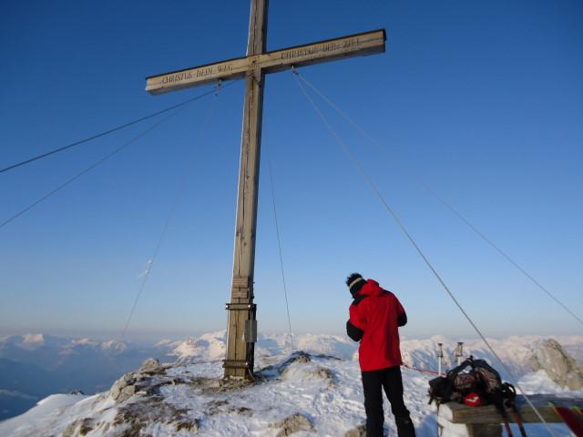Foto: Günter Siegl / Skitour / Ausseer Zinken (1854m) / 19.02.2012 14:25:53