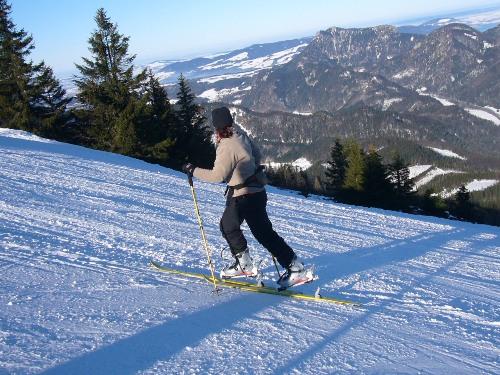 Foto: hofchri / Ski Tour / Zwölferhorn (1521m) über Sausteigalm / 15.12.2008 19:27:43
