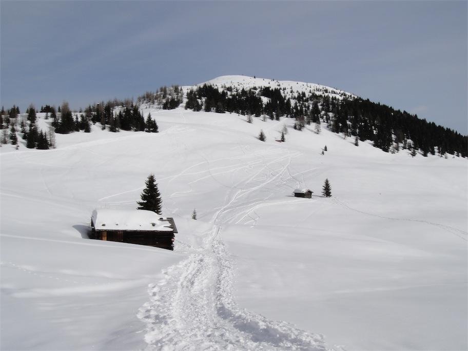 Foto: ksc / Ski Tour / Von St. Oswald auf den Dorfberg (2115m) / 20.02.2011 16:38:00