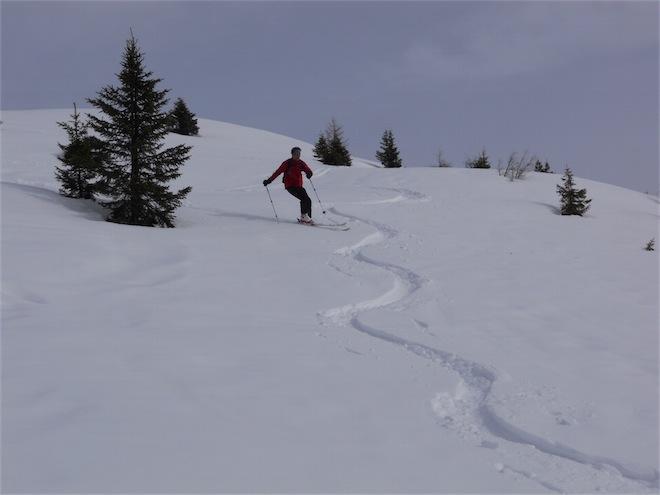 Foto: ksc / Ski Tour / Von St. Oswald auf den Dorfberg (2115m) / 20.02.2011 16:38:39