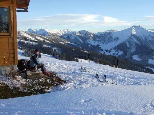 Foto: hofchri / Ski Tour / Spielberg (1428m) / 22.12.2008 18:53:06