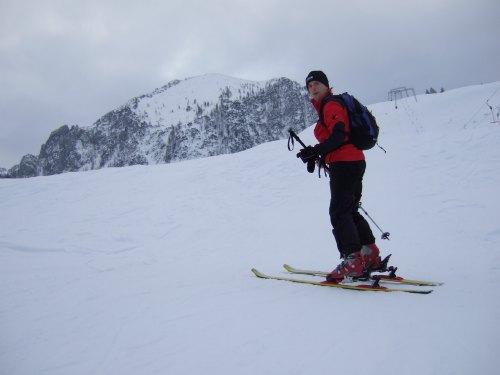Foto: hofchri / Ski Tour / Braunedlkogel (1894 m) / Aufstieg entlang der Lifttrasse / 04.01.2009 18:38:18