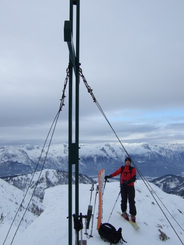Foto: hofchri / Ski Tour / Braunedlkogel (1894 m) / 04.01.2009 18:40:47