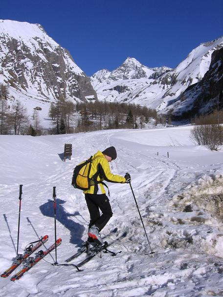 Foto: Andreas Koller / Ski Tour / Fanatkogel (2905m) / 19.12.2008 01:20:03
