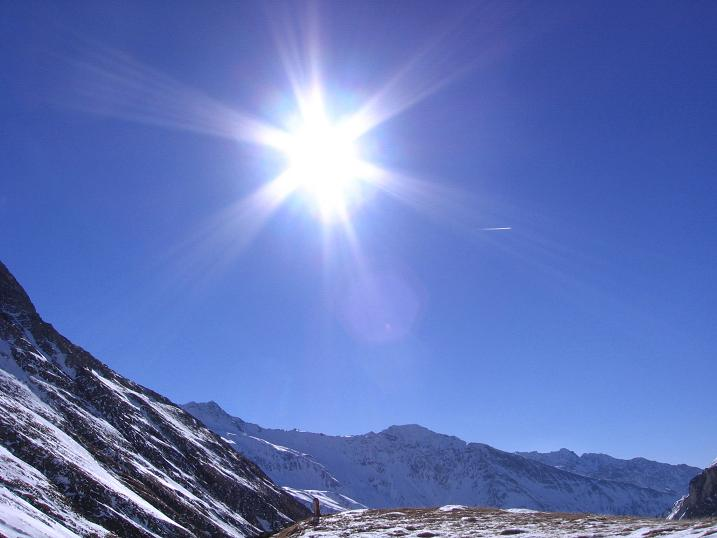 Foto: Andreas Koller / Ski Tour / Fanatkogel (2905m) / 19.12.2008 01:19:57