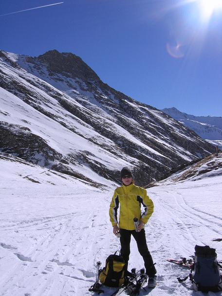 Foto: Andreas Koller / Skitour / Fanatkogel (2905m) / 19.12.2008 01:19:42