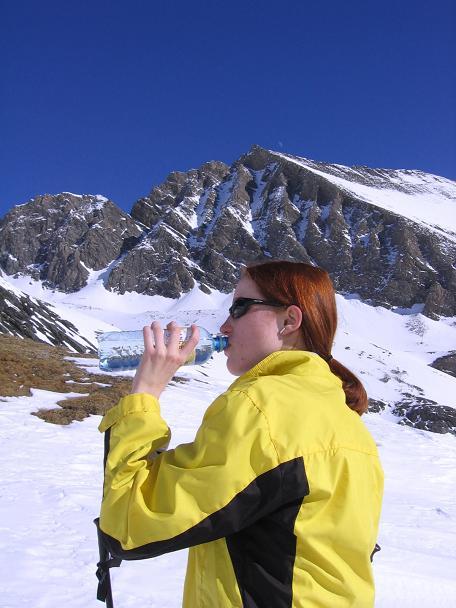 Foto: Andreas Koller / Ski Tour / Fanatkogel (2905m) / 19.12.2008 01:19:10