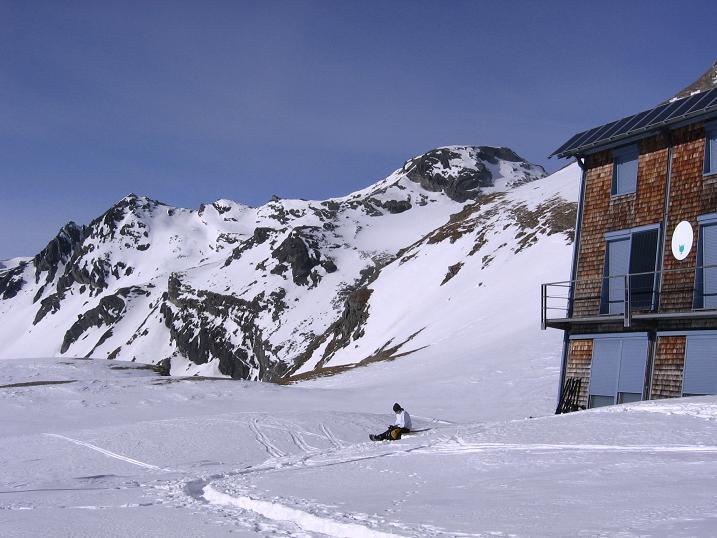 Foto: Andreas Koller / Skitour / Fanatkogel (2905m) / 19.12.2008 01:18:20