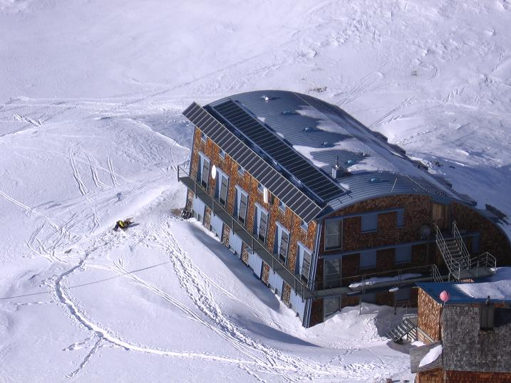 Foto: Andreas Koller / Skitour / Fanatkogel (2905m) / 19.12.2008 01:17:59