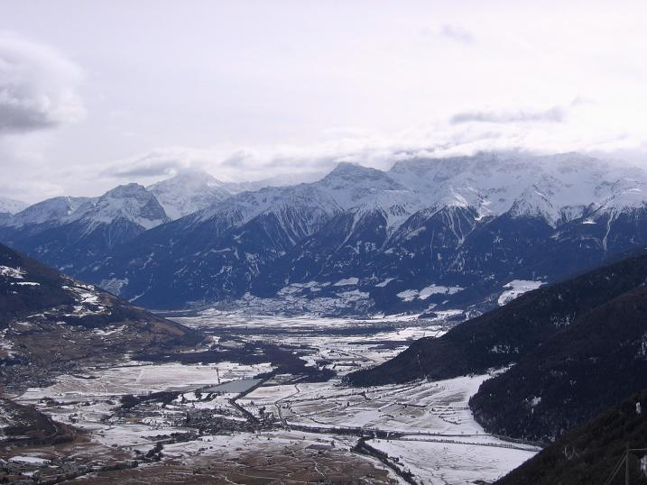 Foto: Andreas Koller / Skitour / Vinschgauer Aussichtsloge Watles (2557 m) / 19.12.2008 01:33:18
