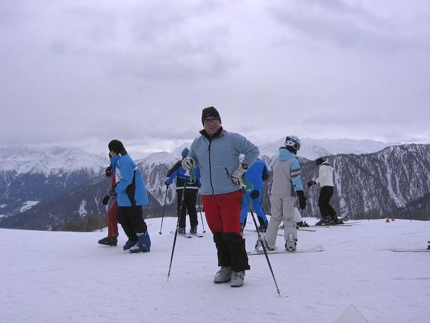 Foto: Andreas Koller / Skitour / Vinschgauer Aussichtsloge Watles (2557 m) / 19.12.2008 01:33:13
