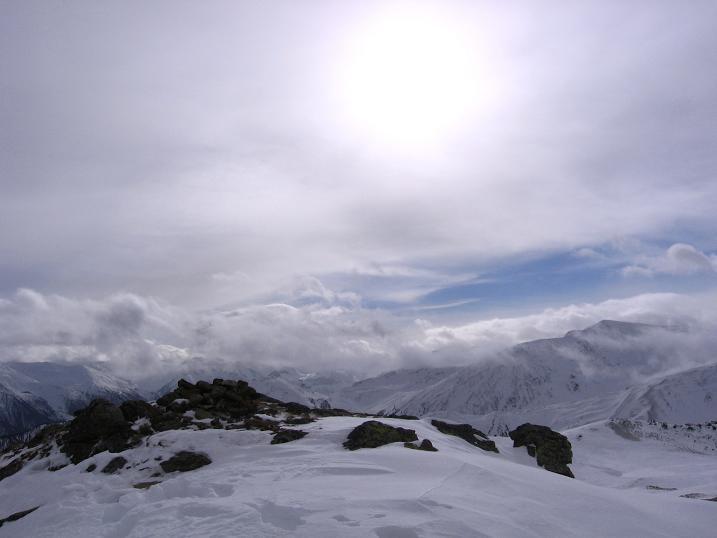 Foto: Andreas Koller / Skitour / Vinschgauer Aussichtsloge Watles (2557 m) / 19.12.2008 01:32:34
