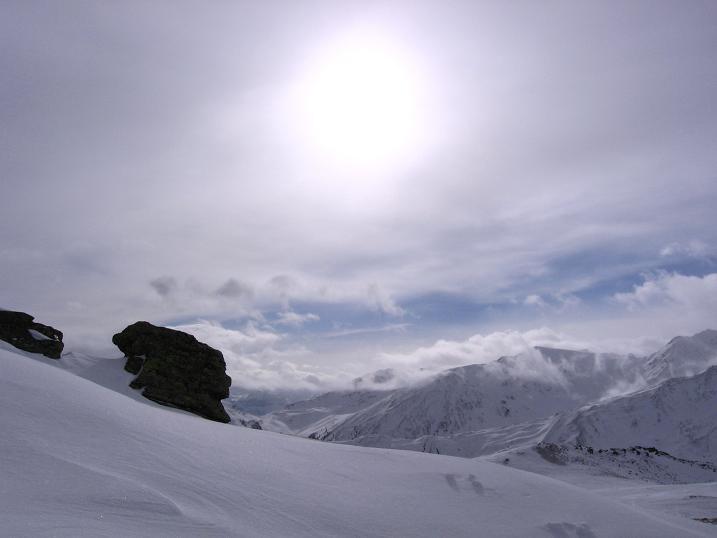 Foto: Andreas Koller / Skitour / Vinschgauer Aussichtsloge Watles (2557 m) / 19.12.2008 01:32:26