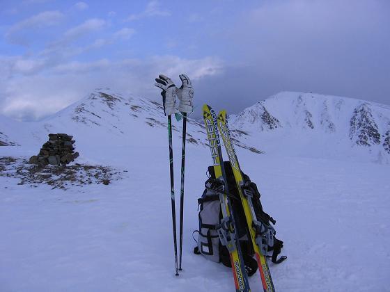 Foto: Andreas Koller / Skitour / Großer Gabler (2576 m) / 22.12.2008 01:19:39