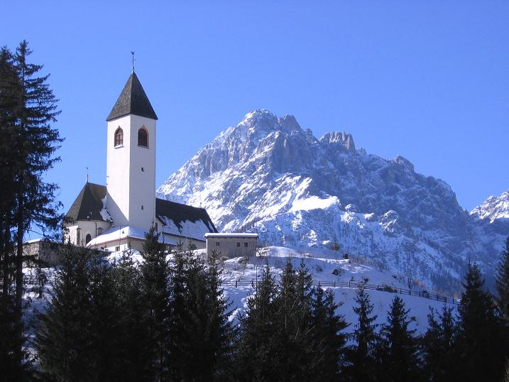 Foto: Andreas Koller / Skitour / Vom Helm (2434 m) aufs Hornischegg (2550 m) und die Hollbrucker Spitze (2581 m) / 23.12.2008 16:43:02
