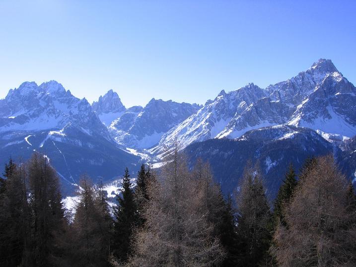 Foto: Andreas Koller / Skitour / Vom Helm (2434 m) aufs Hornischegg (2550 m) und die Hollbrucker Spitze (2581 m) / 23.12.2008 16:42:53