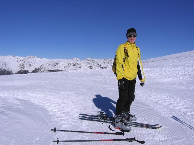 Foto: Andreas Koller / Skitour / Vom Helm (2434 m) aufs Hornischegg (2550 m) und die Hollbrucker Spitze (2581 m) / 23.12.2008 16:42:57