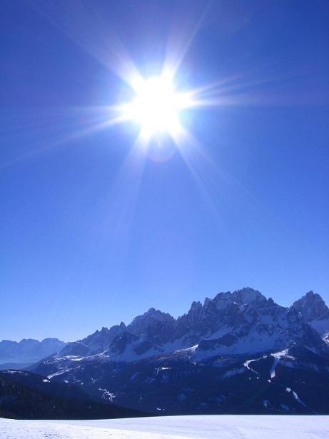 Foto: Andreas Koller / Skitour / Vom Helm (2434 m) aufs Hornischegg (2550 m) und die Hollbrucker Spitze (2581 m) / 23.12.2008 16:42:47