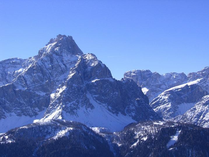 Foto: Andreas Koller / Skitour / Vom Helm (2434 m) aufs Hornischegg (2550 m) und die Hollbrucker Spitze (2581 m) / 23.12.2008 16:42:42