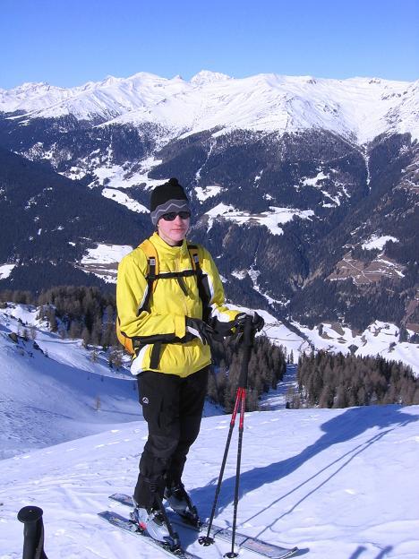 Foto: Andreas Koller / Skitour / Vom Helm (2434 m) aufs Hornischegg (2550 m) und die Hollbrucker Spitze (2581 m) / 23.12.2008 16:42:30